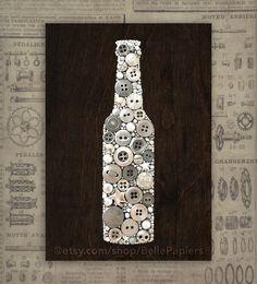 Cocina decoración cerveza colgando de la pared letrero de madera cerveza garaje arte tuercas y tornillos clavos mosaico cerveza botella botón arte Arte cerveza pared Art Decó de BellePapiers en Etsy https://www.etsy.com/es/listing/291207731/cocina-decoracion-cerveza-colgando-de-la