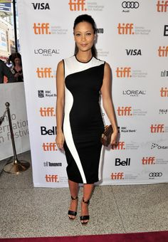 Fabulously Spotted: Thandie Newton Wearing Stella McCartney - 2013 Toronto International Film Festival 'Half Of A Yellow Sun' Premiere  - http://www.becauseiamfabulous.com/2013/09/thandie-newton-wearing-stella-mccartney-2013-toronto-international-film-festival-half-of-a-yellow-sun-premiere/