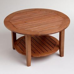 One of my favorite discoveries at WorldMarket.com: Round Valencia Coffee Table