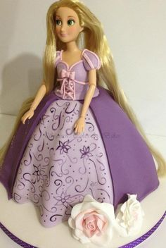 How to make a Rapunzel Doll Cake - http://www.facebook.com/photo.php?fbid=375838752464407=a.375837889131160.75966.160127694035515=3