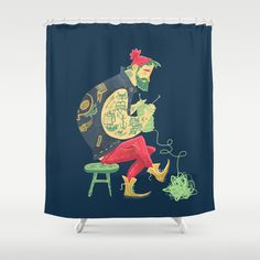 Break those Rules. Shower Curtain