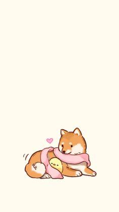 Kawaii Chibi, Cute Chibi, Kawaii Art, Cute Animal Drawings, Kawaii Drawings, Cute Drawings, Kawaii Wallpaper, Cute Wallpaper Backgrounds, Cute Images