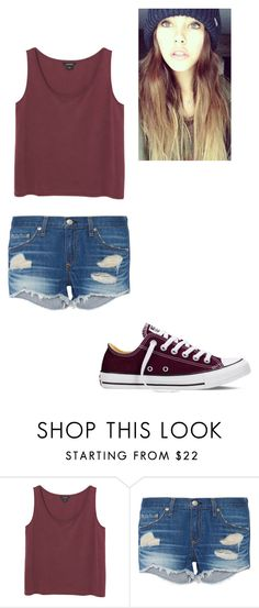 """""""Untitled #161"""" by pufferfishgal on Polyvore featuring Monki, rag & bone, Converse, women's clothing, women, female, woman, misses and juniors"""