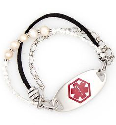 Caroline Medical ID Bracelet with tag