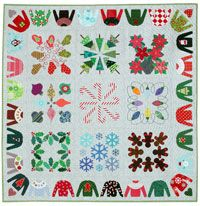Free Block Pattern: Ornaments | My Christmas Album | Quilters Newsletter