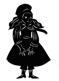 "From "" The Nutcracker "", silhouette by Stefania Missio"
