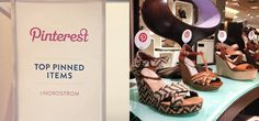 Social media window shopping: Stores promote products based on real-time Pinterest activity