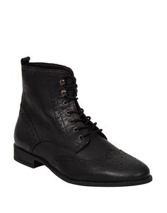 371b13832598 Lace-up Leather Brogue Ankle Boots - Woolworths. Women Shoes Sneakers