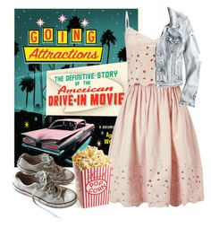 """""""Drive-In"""" by beetlescarab ❤ liked on Polyvore featuring Miss Selfridge, American Eagle Outfitters, Converse, DateNight, drivein and summerdate"""