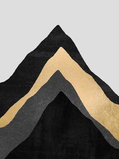 Four Mountains Canvas Print
