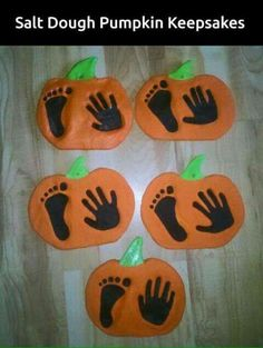 Kid or baby souvenir of the pumpkin!