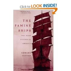 The Famine Ships: The Irish Exodus to America Good Books, Books To Read, My Books, Irish Famine, Limerick Ireland, Irish Times, One In A Million, Book Lists, Genealogy