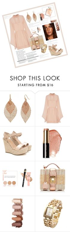 """Girls Night Out"" by valerie-42 ❤ liked on Polyvore featuring Bold Elements, Emilio Pucci, Bobbi Brown Cosmetics, BHCosmetics and Mark Cross"