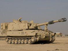 M-109 Self Propelled Howitzer, It's NOT A Tank, It's A 155mm Artillery Piece. I was a Gunner.