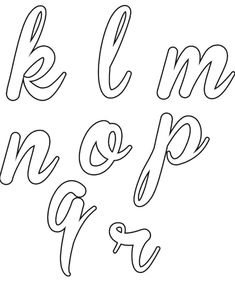 Imprima aqui todo o alfabeto cursivo. Veja como fazer os seus moldes de alfabeto cursivo, imprimir e melhorar as aulas de caligrafia com seus alunos. How To Write Calligraphy, Calligraphy Fonts, Alphabet Coloring Pages, Printable Coloring Pages, Alphabet Templates, Hand Lettering Alphabet, Agenda Planner, Word Design, String Art