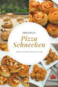 zweierlei pizzaschnecken │ nurmalkosten.com