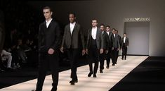 Emporio Armani - 2015 Fall Winter Menswear Collection