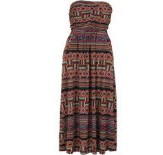aztec print dress  multi  size: xs-xl Aztec, Summer Dresses, Awesome, Fashion, Moda, Summer Sundresses, Fashion Styles, Fashion Illustrations, Summer Clothing