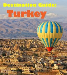 Destination Guide - Turkey. What to see and do and some resources to help you plan your trip:http://bbqboy.net/turkey-guide-travel-tips/ #turkey #destinationguide