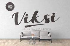 Viksi Script - Free for Personal & Commercial Use on Behance