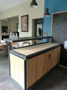comptoir bar pour foire et salons | Industriel design | Pinterest ...