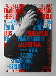 Type Porn / Jazz festival poster. — Designspiration
