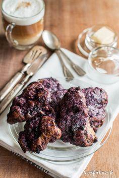 Scones aux Myrtilles & Chocolat