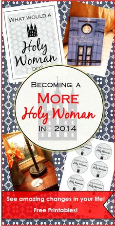 Becoming a More Holy Woman in 2014