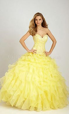 This! this! Is! Exactly! My! Dream! Prom! Dress! I love everything about it! The color especially!!!!