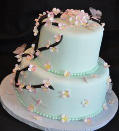 i probably won't get to do the fancy cake, but thought it was pretty!