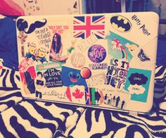 cool laptop stickers tumblr - Google Search