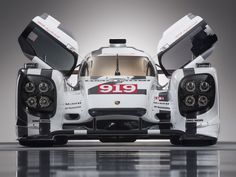 Geneva 2014: Porsche 919 Hybrid in Le Mans Livery You all remember how bad ass the 918 was .. well this is the 919 ..bring on the pain