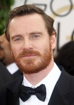 Michael Fassbender at the 71st Annual Golden Globe Awards