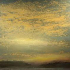 "Saatchi Art Artist Maurice Sapiro; Painting, ""Cumulus At Sunset"" #art"