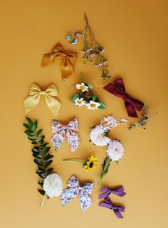 Free Babes Handmade Fall Collection // Handmade hair bows for little girls who love adventure.