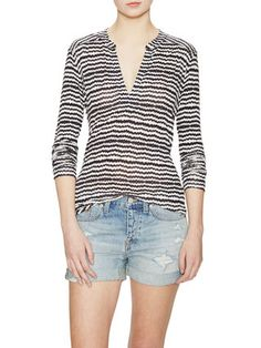 A great basic top--like the pattern and shape.