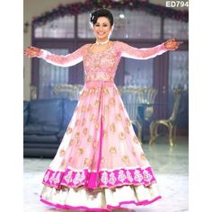 The Zeenat Anarkali Lehenga Kameez Magnificant by Ethnicdresses Pakistani Wedding Dresses, Indian Wedding Outfits, Pakistani Outfits, Indian Dresses, Indian Outfits, Bridal Dresses, Indian Bridal Wear, Asian Bridal, Ethnic Fashion
