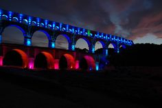 'Le pont du Gard' was entered into the 'Win a Week in Tuscany' photo contest on 23 Jan 2013 Pont Du Gard, Photo Contest, Tuscany, Italy, France, River, Vacation, Photography, Colors