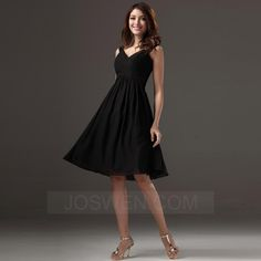 e6d4e9e7f04 Joswen Dresses for Weddings and Special Occasions - A-line Sweetheart  Knee-length Chiffon
