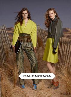 Balenciaga FW2012 campaign