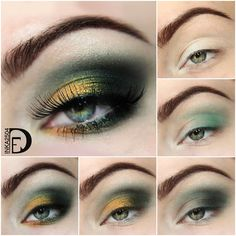 Boho Bride via #inka2504 #eyemakeup #tutorial #pictorial Pretty howto for eyes. - bellashoot.com