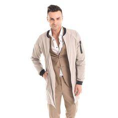 #Bomber oversize e #abito cammello: il giusto compromesso tra #eleganza e #CasualLook  #GianVargian #ss16