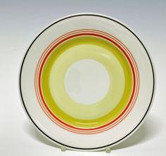 Plate by Nora Gulbrandsen for Porsgrund Porselen. Production year 1927-37.