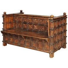 Mughal Double Bench