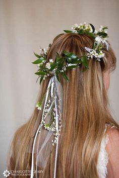 floral headpiece/veil