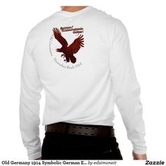 Old Germany 1914 Symbolic German Eagle in Flight