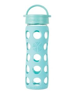 Lifefactory 16 oz. Glass Beverage Bottle - Turquoise