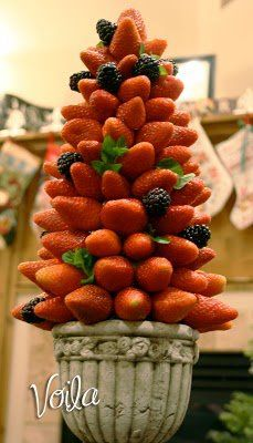 árbol de frutillas