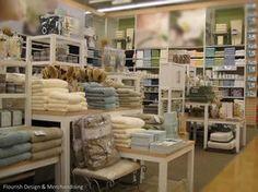 Spa by Melissa of Flourish Design & Merchandising.  Visual merchandising, display, bath and body