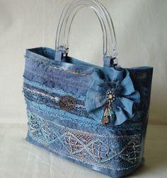 Bolso Vintage hecho a mano & ramillete de Jill por stitchnsew